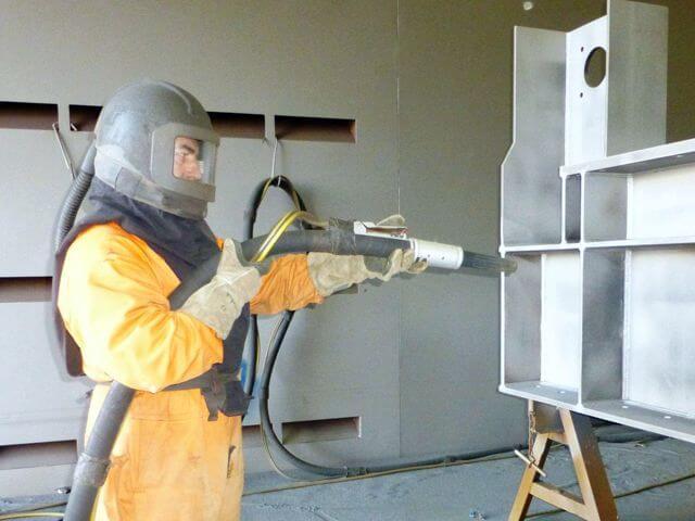 Neumann Contractors - Neumann Industrial Coatings - Sand Blasting- Abrasive Blasting