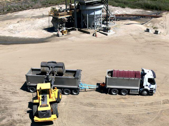 Neumann Contractors - Corridor Sands - Bulk Sand Supply