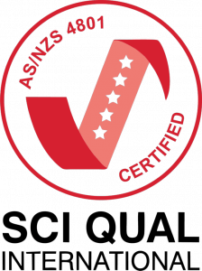 Sci Qual AS/NZS 4801 Certified Image